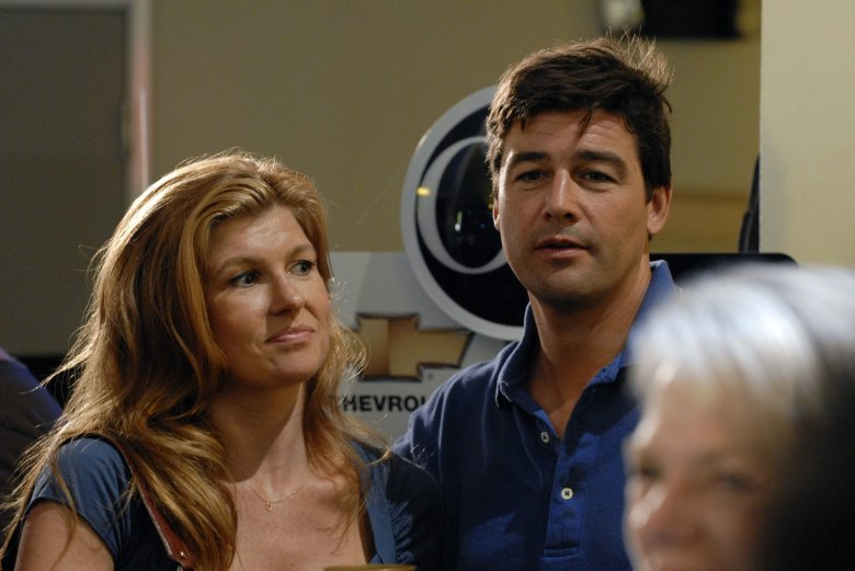 "Connie Britton and Kyle Chandler in ""Friday Night Lights."""