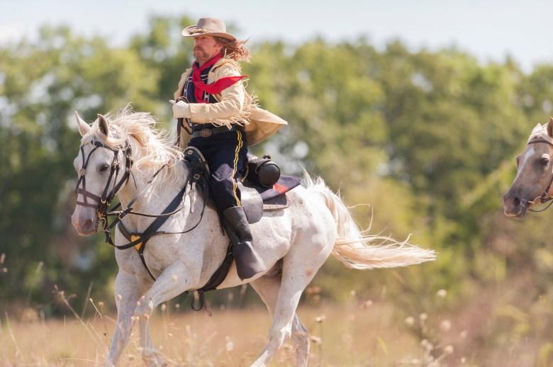 John C. Bailey as General George Custer - The West _ Season 1, Episode 3 -