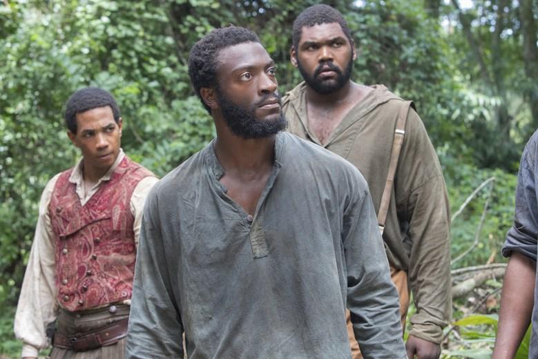 Cato (Alano Miller), Noah (Aldis Hodge), Zeke (Theodus Crane)