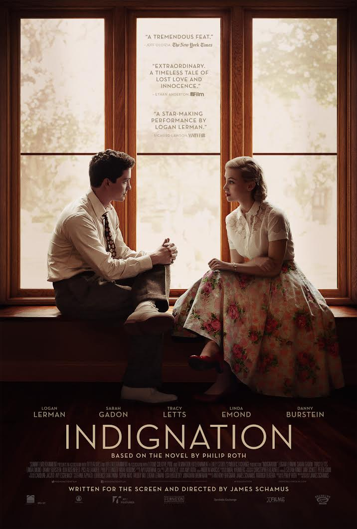 """Indignation"" Poster"
