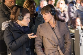 "Shiri Appleby and Constance Zimmer in ""UnREAL."""