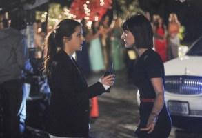 """UnREAL"" Season 2 Episode 1 Shiri Appleby & Constance Zimmer"