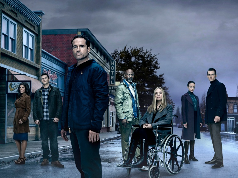 "The cast of ""Wayward Pines"""