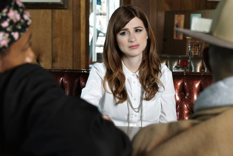 "YOU'RE THE WORST -- ""All About That Paper"" -- Episode 204 (Airs Wednesday, September 30, 10:30 pm e/p Pictured: Aya Cash as Gretchen. CR: Byron Cohen/FX"
