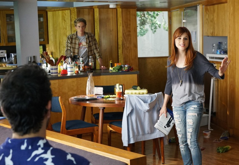 "YOU'RE THE WORST -- ""There Is Not Currently A Problem"" -- Episode 207 (Airs Wednesday, October 21, 10:30 pm e/p Pictured: (l-r) Chris Geere as Jimmy, Aya Cash as Gretchen. CR: Byron Cohen/FX"