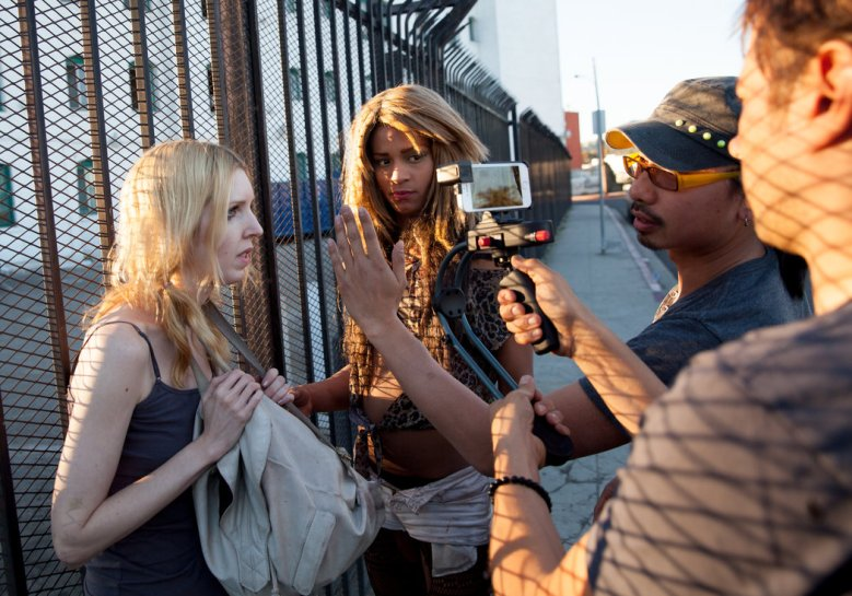 behind the scenes of Tangerine/LGBTQmovies