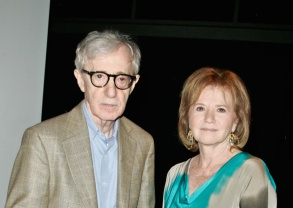 Woody Allen and sister Letty Aronson