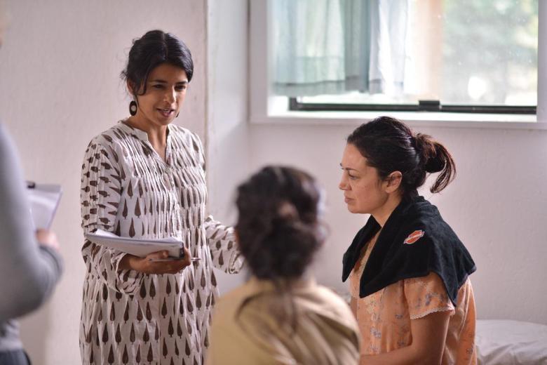 Directing fellow Sandhyu Suri discusses her scene.