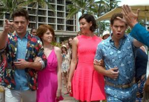 Zac Efron, Aubrey Plaza, Anna Kendrick, and Adam Devine in Mike And Dave Need Wedding Dates