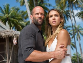 Jason Statham and Jessica Alba