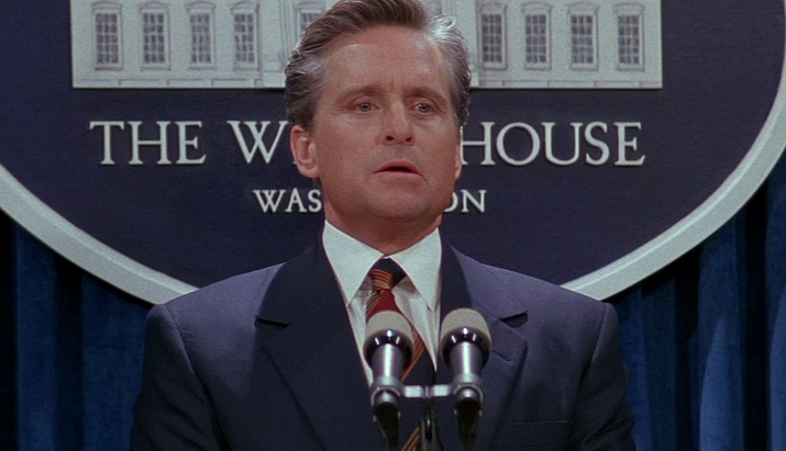 Michael Douglas in The American President