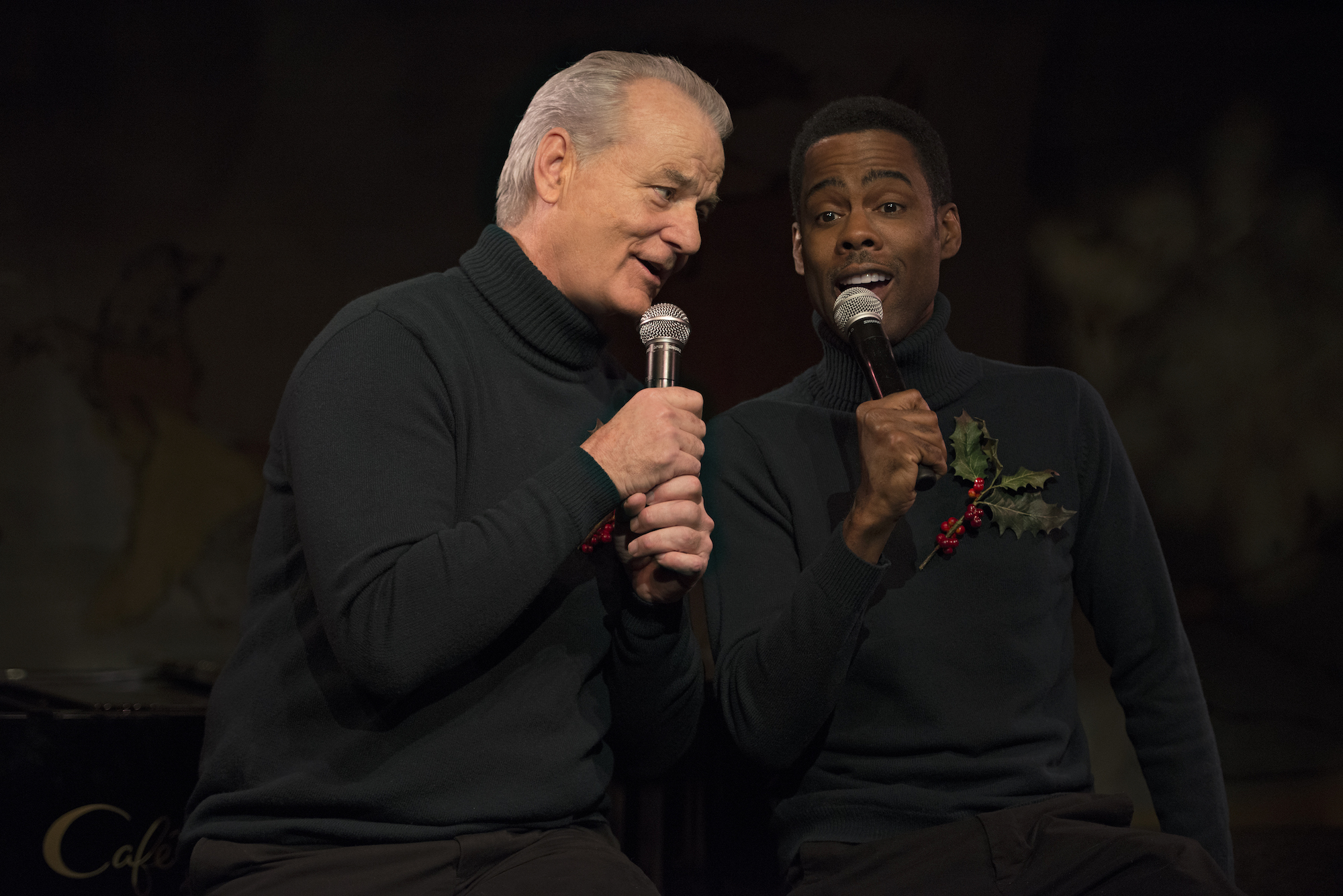 A VERY MURRAY CHRISTMAS Bill Murray & Chris Rock