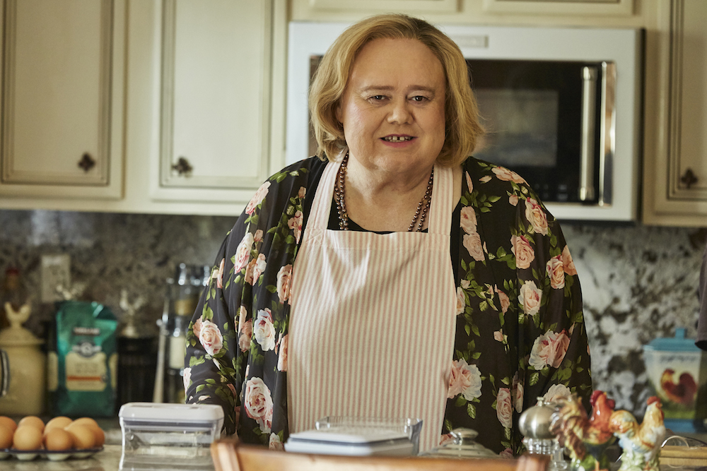 "BASKETS ""Sugar Pie"" Episode 108 (Airs Thursday, March 10, 10:00 pm/ep) -- Pictured: Louie Anderson as Christine Baskets. CR: Ben Cohen/FX"