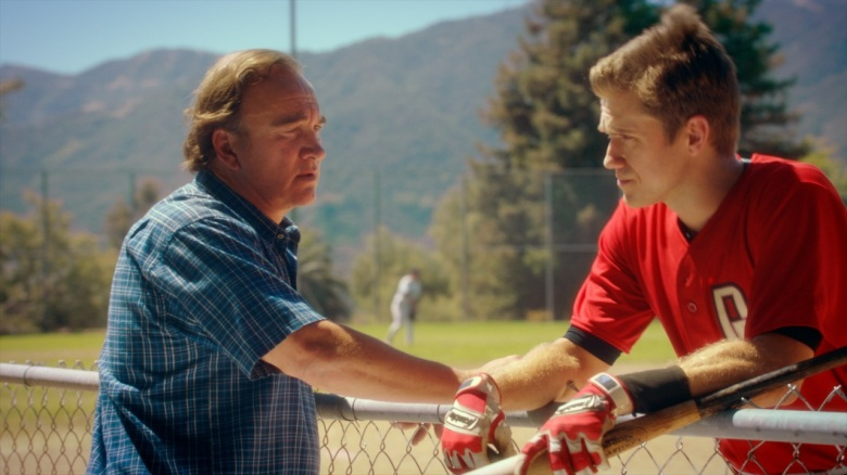 "Jim Belushi and Aaron Tveit in ""Undrafted"""