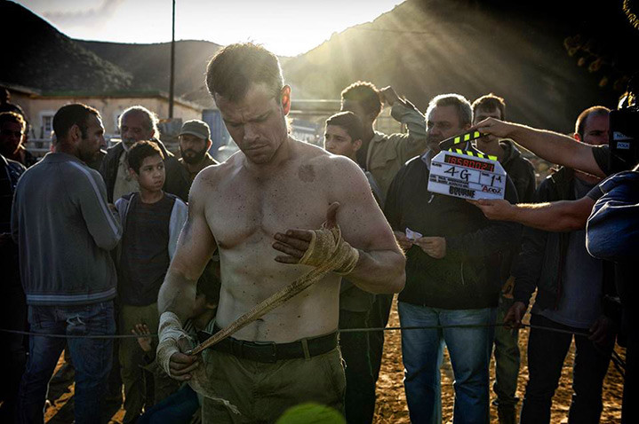 "Matt Damon in ""Jason Bourne"""