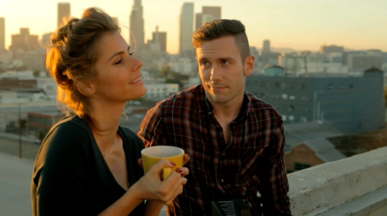 "Brianna Brown & Kit Williamson in ""EastSiders"""