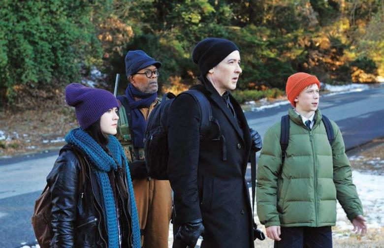 Isabelle Fuhrman, Samuel L. Jackson, John Cusack and Owen Teague - Cell