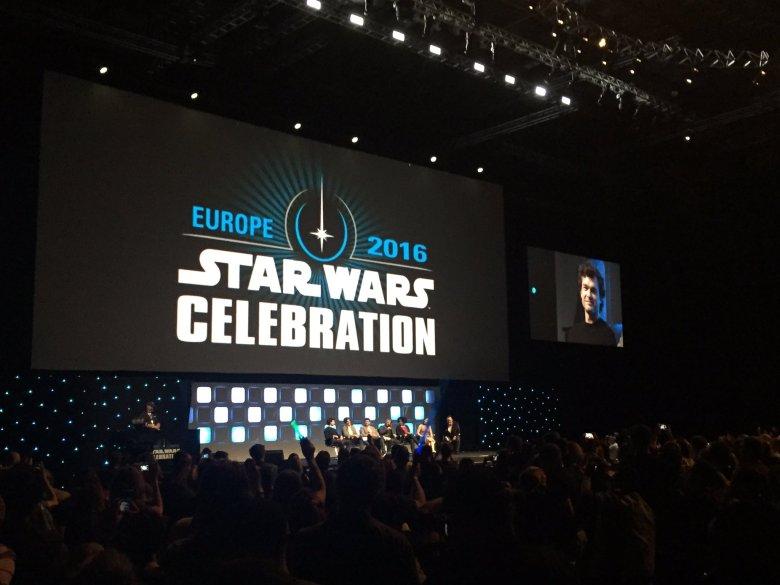 Alden Ehrenreich makes his Star Wars Celebration debut