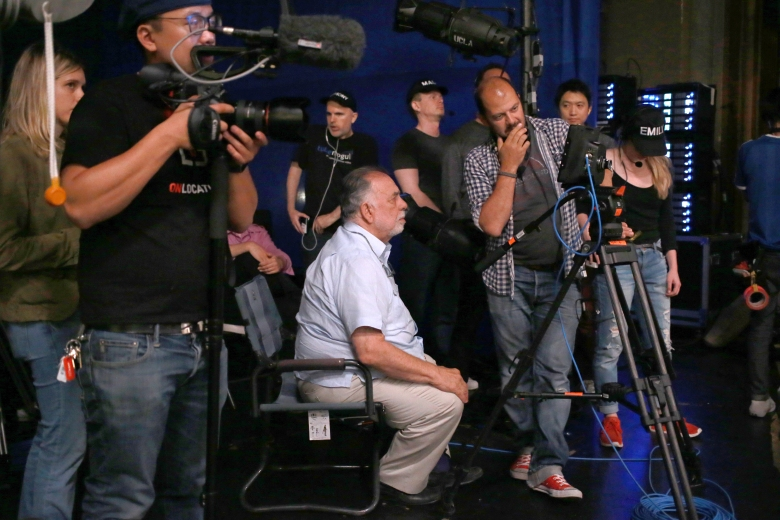 Francis Ford Coppola Shoots Live Hybrid