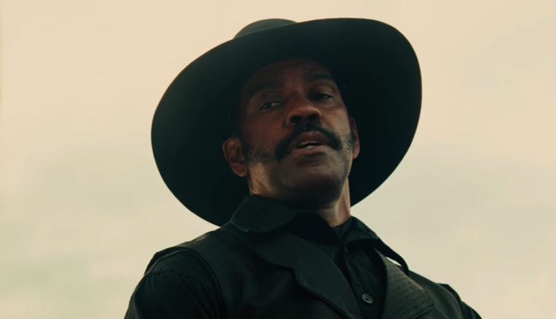 "Denzel Washington in ""The Magnificent Seven"""