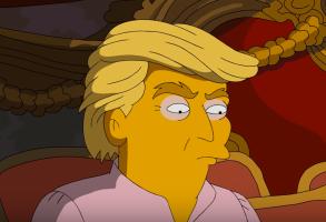 Simpsons Donald Trump