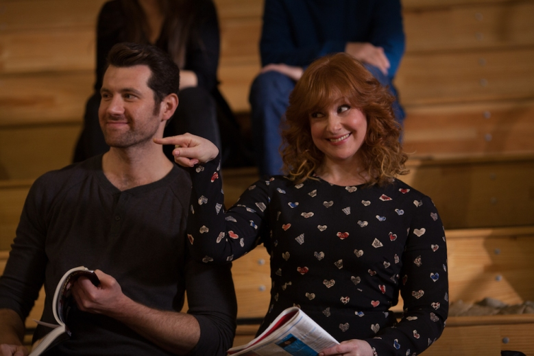 "Billy Eichner as Billy Epstein & Julie Klausner in ""Difficult People"" Season 2"