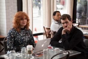 """Billy Eichner as Billy Epstein & Julie Klausner in """"Difficult People"""" Season 2"""