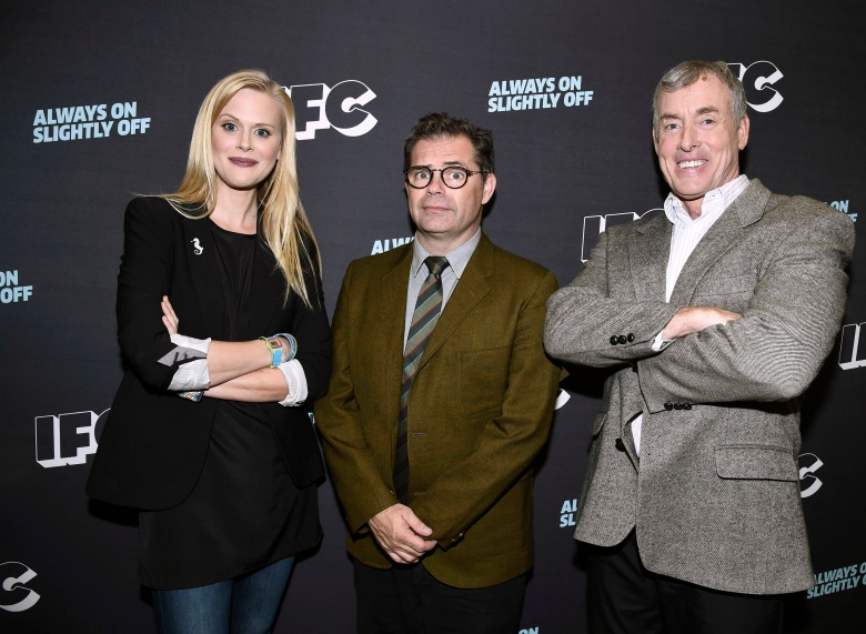 Janet Varney, Dana Gould and John C. McGinley attend the 2016 TCA Panels at the Beverly Hilton Hotel on Sunday, July 31, 2016, in Beverly Hills, Calif. (Photo by )