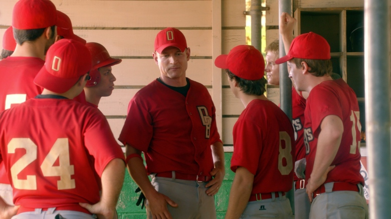 "Philip Winchester (center) as Fotch in ""Undrafted"""