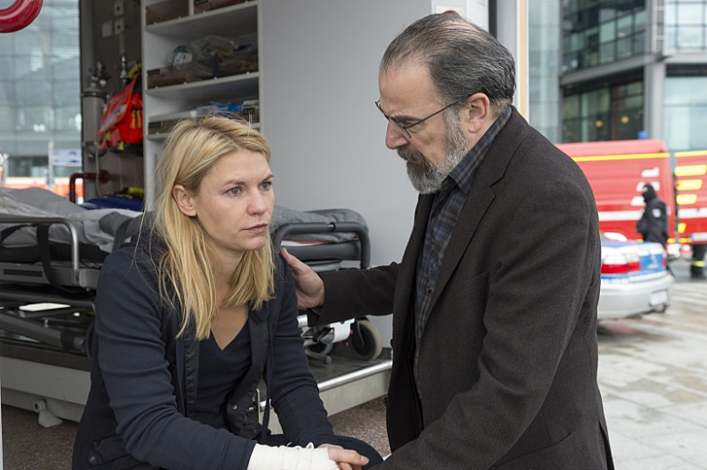 Homeland Season 5 Claire Danes & Mandy Patinkin