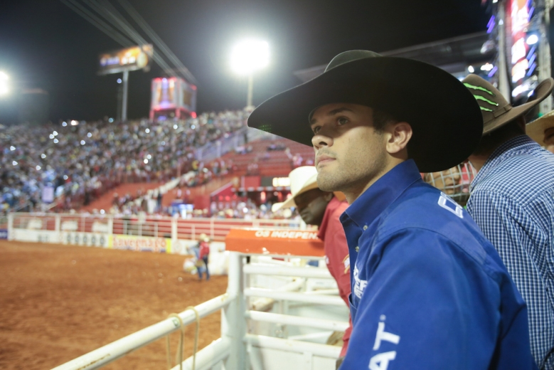 "Fearless, a Netflix original docu-series, follows a group of professional bull riders at the top of their sport. It premieres on Netflix on August 19, 2016. Pictured: ""Kaique Pacheco"""