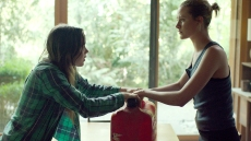 Ellen Page and Evan Rachel Wood in Into the Forest