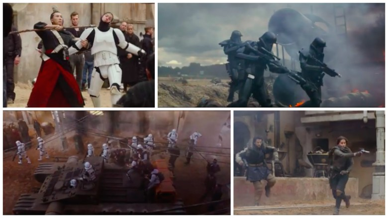 "Shots of Jedha from ""Rogue One: A Star Wars Story"""