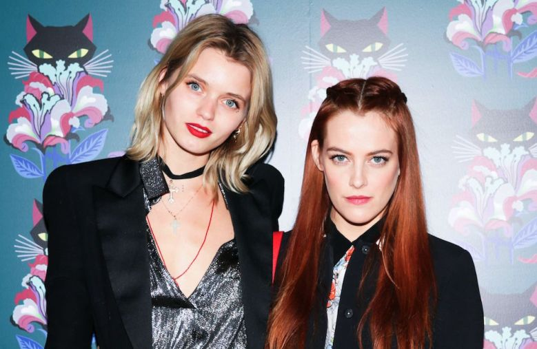 Abbey Lee and Riley Keough