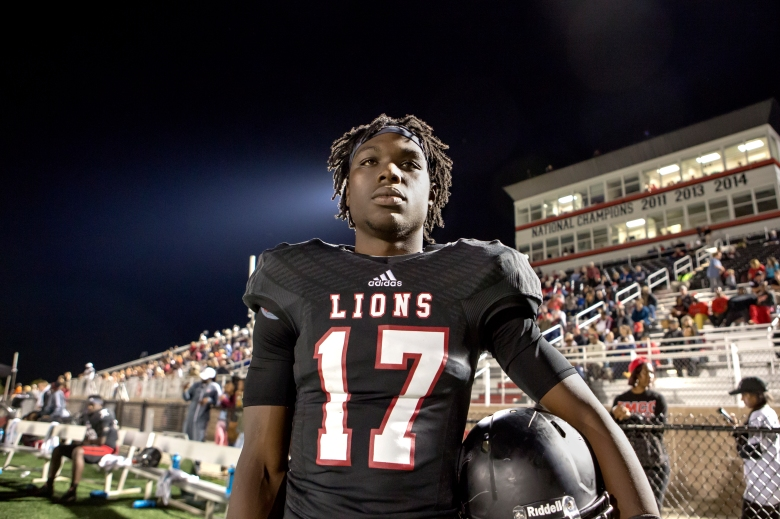 "Isaiah Wright in ""Last Chance U."""