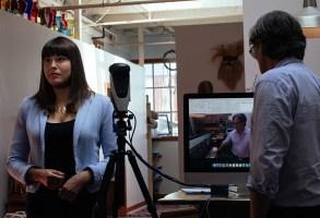 Halsey Minor demos Live Planet camera.