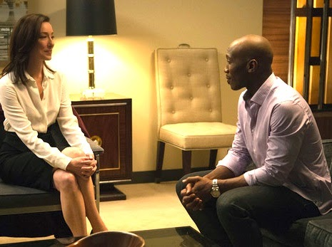 Mahershala Ali and Molly Parker in 'House of Cards'