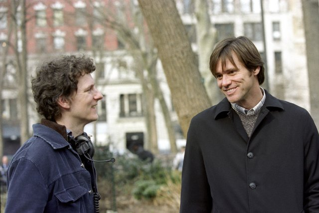 Michel Gondry and Jim Carrey
