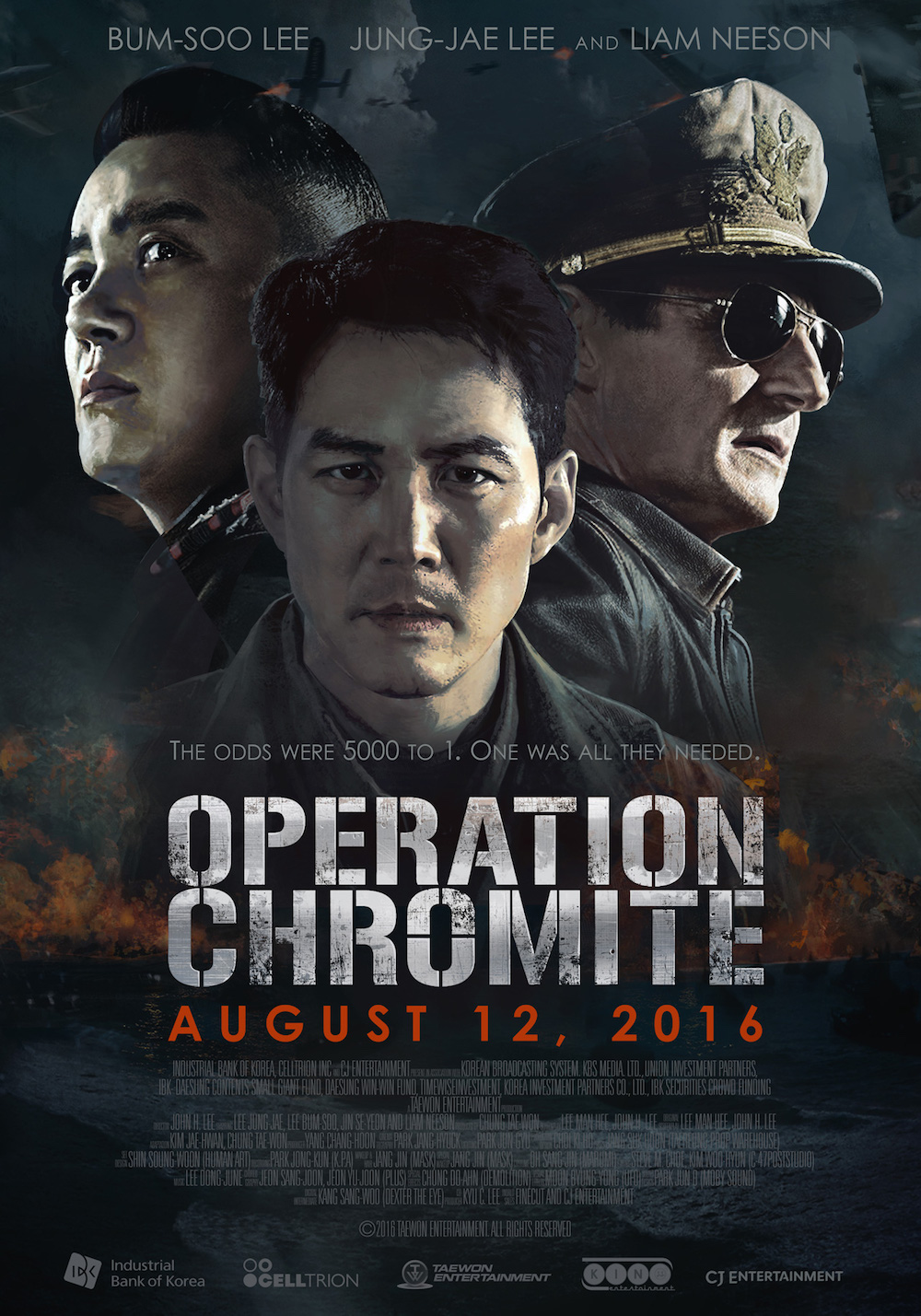 Operation Chromite Liam Neeson