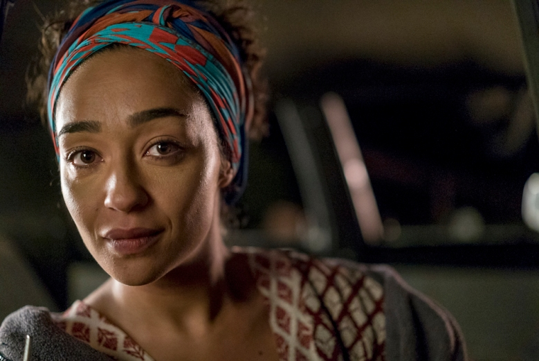 Ruth Negga as Tulip O'Hare - Preacher _ Season 1, Pilot - Photo Credit: Lewis Jacobs/Sony Pictures Television/AMC