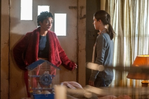 "Ruth Negga and Lucy Griffiths in ""Preacher."""