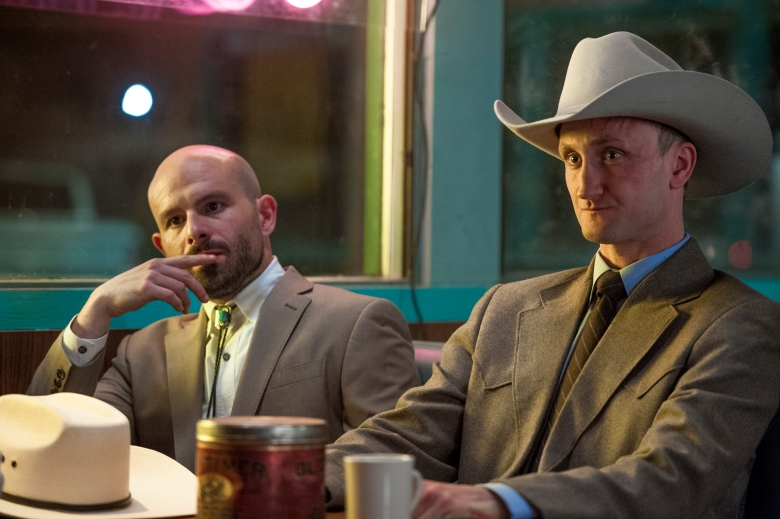 "Tom Brooke and Anatol Yusef in ""Preacher."""