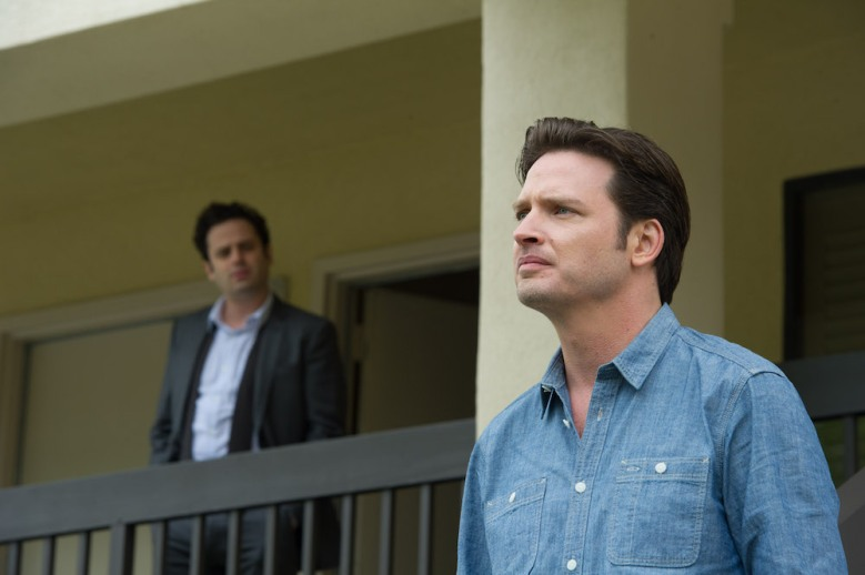 "L to R, Luke Kirby and Aden Young - in the SundanceTV original series ""Rectify"" - Photo Credit: Curtis Baker"