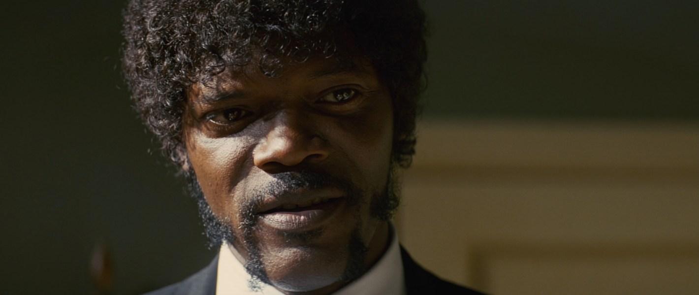"Samuel L. Jackson in ""Pulp Fiction"""
