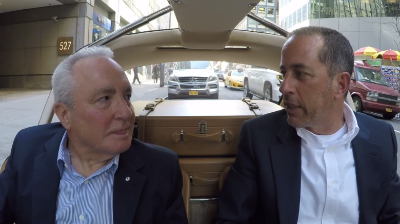 Jerry Seinfeld Lorne Michaels Comedians in Cars Getting Coffee
