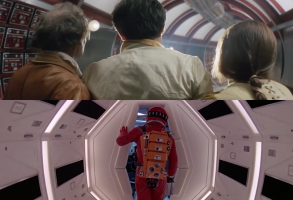 "Stills from ""Solaris"" and ""2001: A Space Odyssey"""