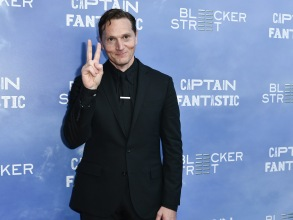 "Matt Ross at the premiere of ""Captain Fantastic"""