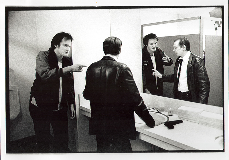 Tarantino and Buscemi