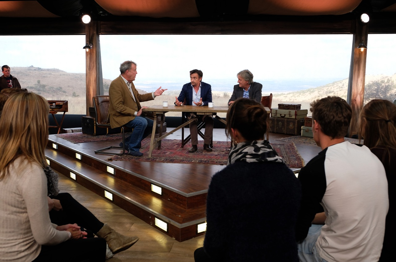 'The Grand Tour' Photos: First Look at Jeremy Clarkson, Richard Hammond & James May's Sweeping New Amazon Series