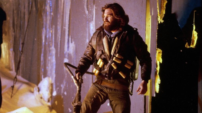 Kurt Russell in John Carpenter's The